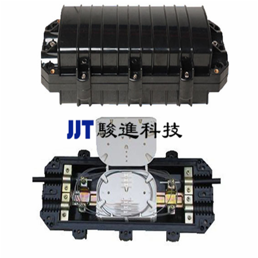 High quality Outdoor Fiber Optic Enclosure Horizontal Cable Splice Closures with pc Material