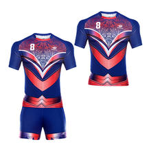 wholesale cheap sublimation breathable rugby jerseys custom designed team rugby shirt