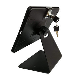 Restaurant table android tablet locking stand for sumsung flexible counter mount security tablet anti theft lock