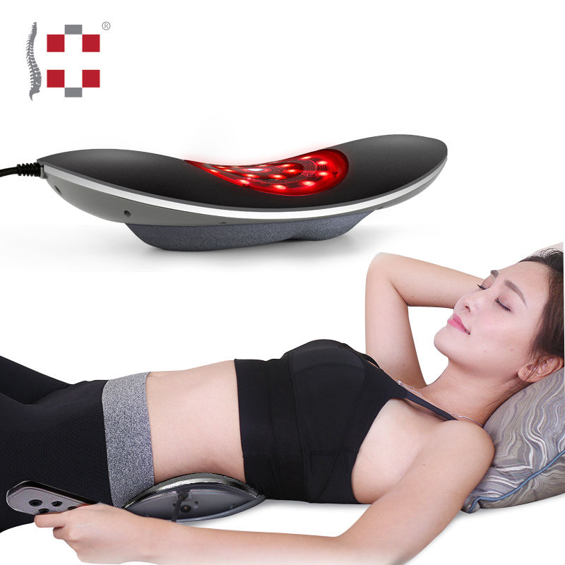 Persoonlijke taille vibrerende spinal air druk lumbale back <span class=keywords><strong>massager</strong></span>