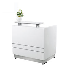 2019 beauty salon furniture small reception counter table
