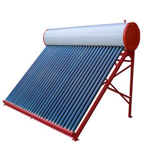 2020 New Galvanized steel compact solar water heater roof plastic solar water heater rooftop heat pipe solar water heater