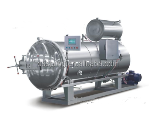 SUS304 high-quality materials spray retort sterilizer autoclave for food canned