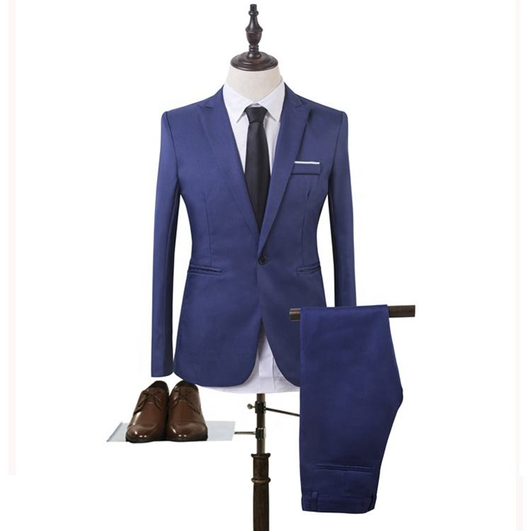 2019 Spring and Autumn Men's Korean Edition Youth Groomsman Suit