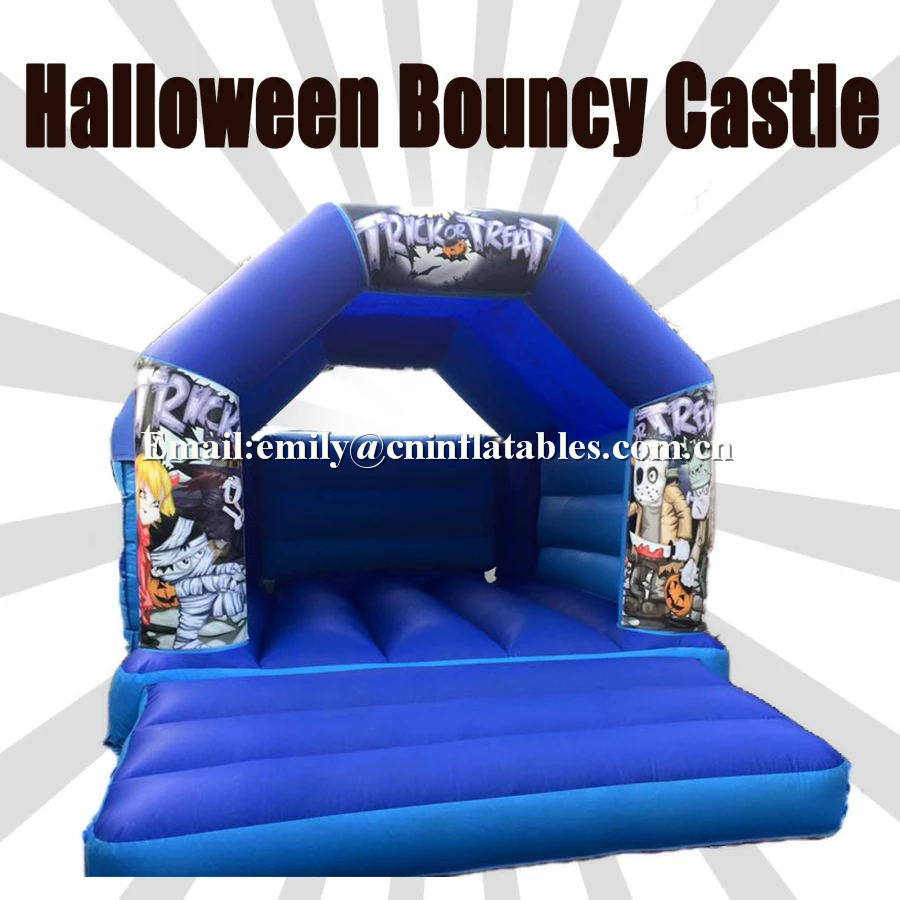 PVC material halloween inflatable bouncy castle jumper for events