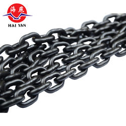 super quality g80 8mm 6mm black lifting load link chains