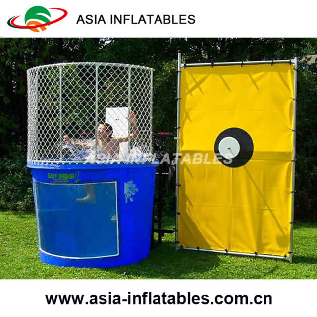 Hot Sale Dunk Tank Game, Cheap Inflatable Dunk Tank For Sale