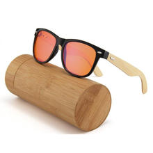 China bamboo arms anti blue light glasses eyeglasses