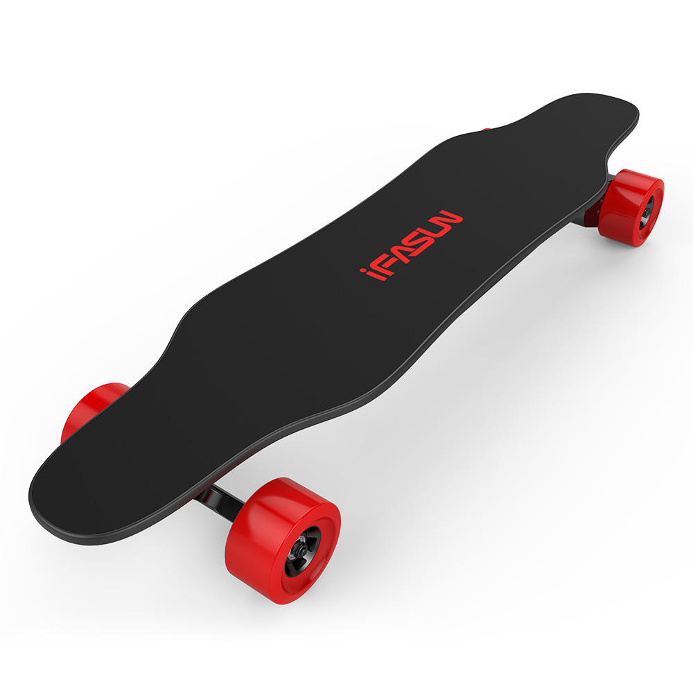 Best seller dual hub motor 100% maple wood flexible electric longboard