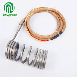 1000w coil spiral room hot runner heater with thermocouple