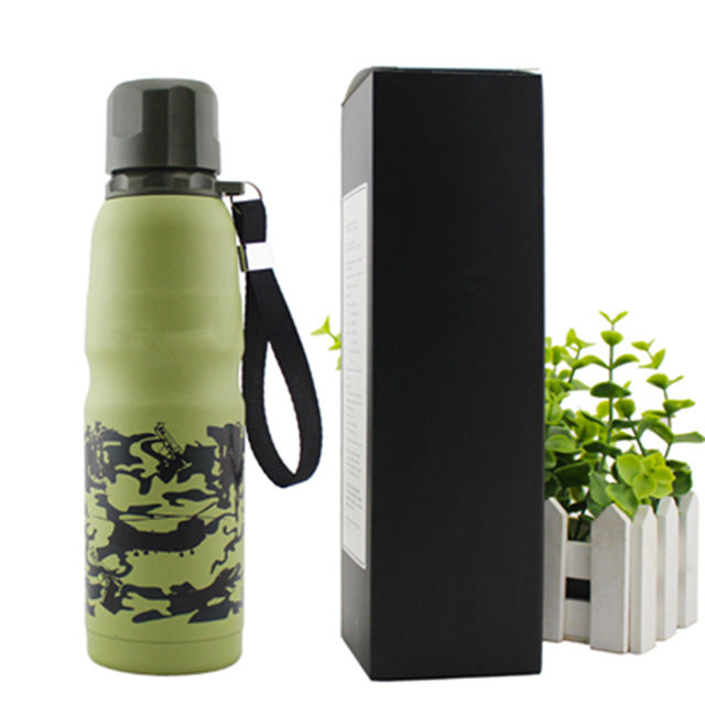 Classic Multi Colors Metal 500ML Stainless Steel Insulated Water Bottles With Custom Logo And Lid
