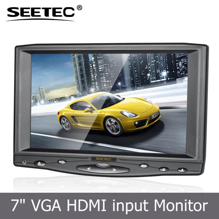 Низкая цена 7 дюймов профессиональный монитор видеонаблюдения для камеры безопасности Systerm