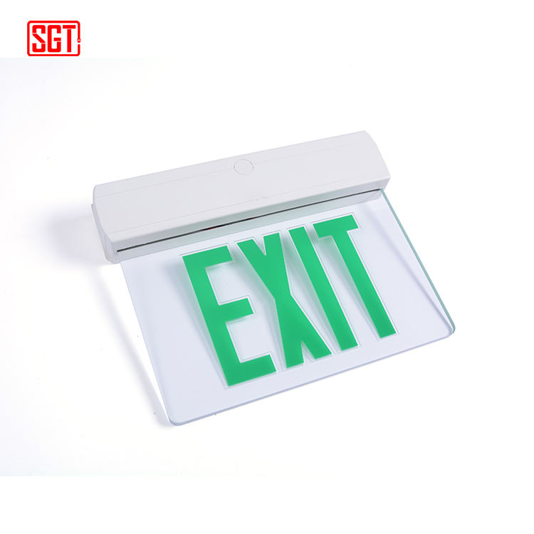 Noord-amerikaanse standaard exit lamp exit light sign emergency exit led licht