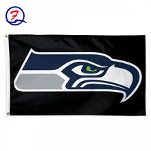 Seattle Seahawks flag, football team flag