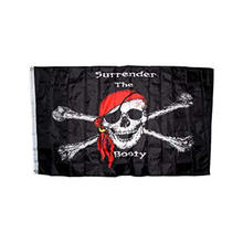 Promotional Custom 90*150cm Pirates Outdoors banner flag