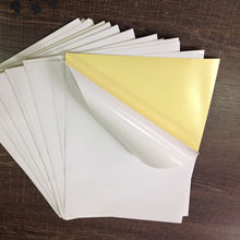 Big sale bulk removable self adhesive sticker paper by china manufacturer