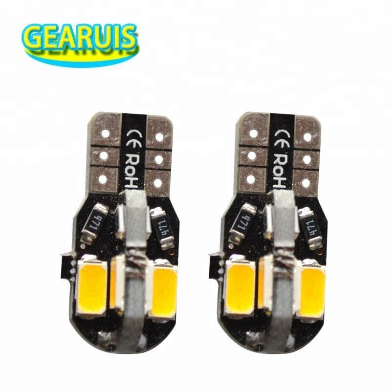 T10 Canbus 8 SMD 5630 5730 LED 130MA Geen fout led parking leeslamp Geen Fout auto licht 12 V