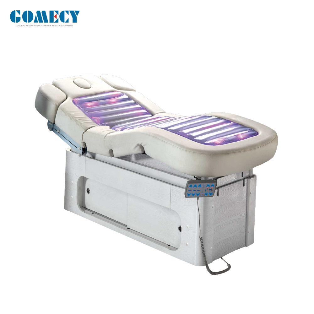 electrical water jet massage bed LED light therapy treatment aesthetic center equipment