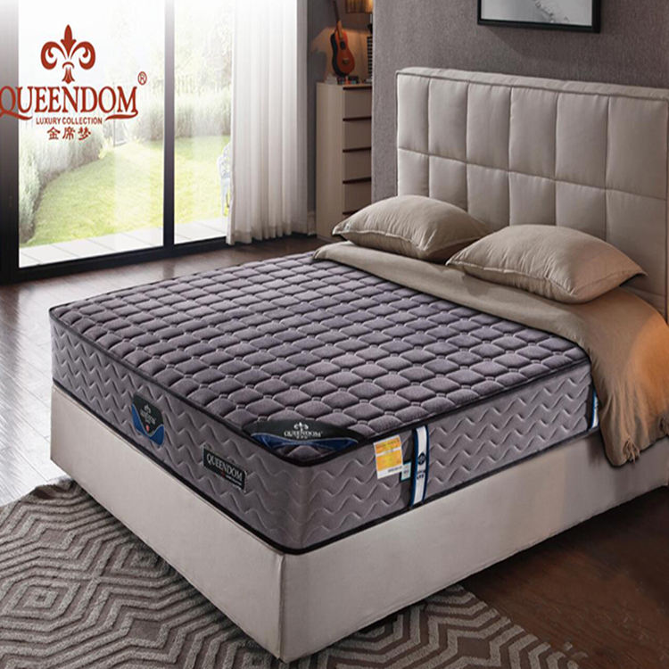 Natural latex sleep well roll up cool gel mattress memory foam mattress with pocket spring system