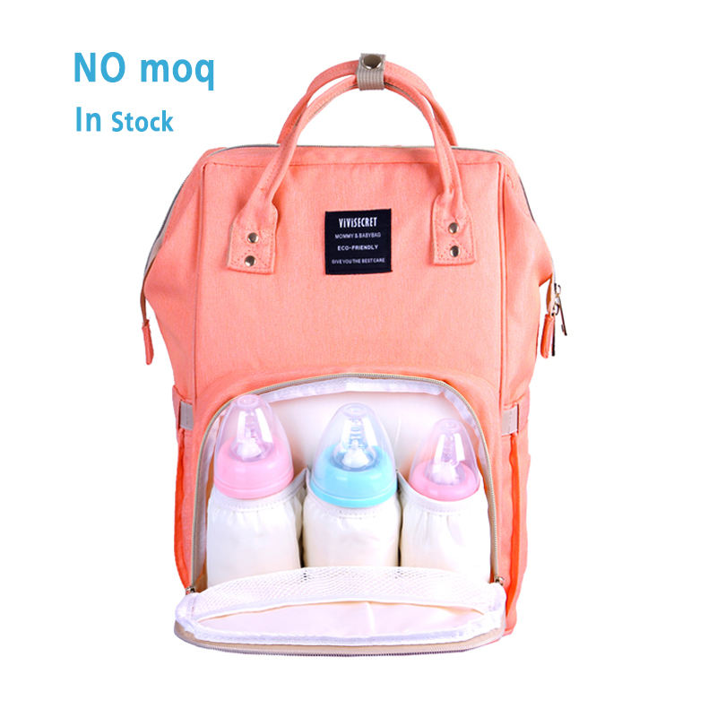 NEWEST private label tote baby blank shoulder backpack durable mother nappy bag travel mummy diaper bag