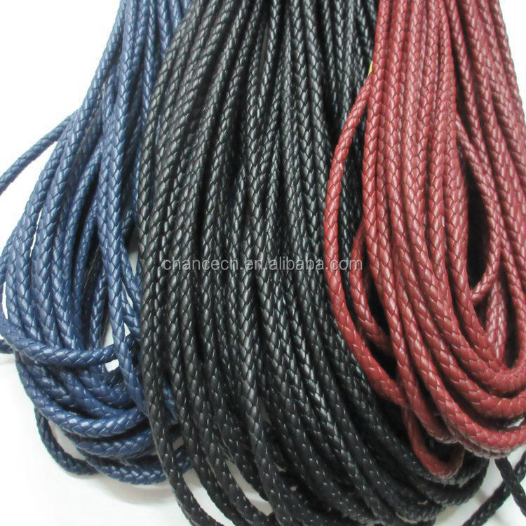 Wholesale China 5mm genuine sheepskin round leather cord