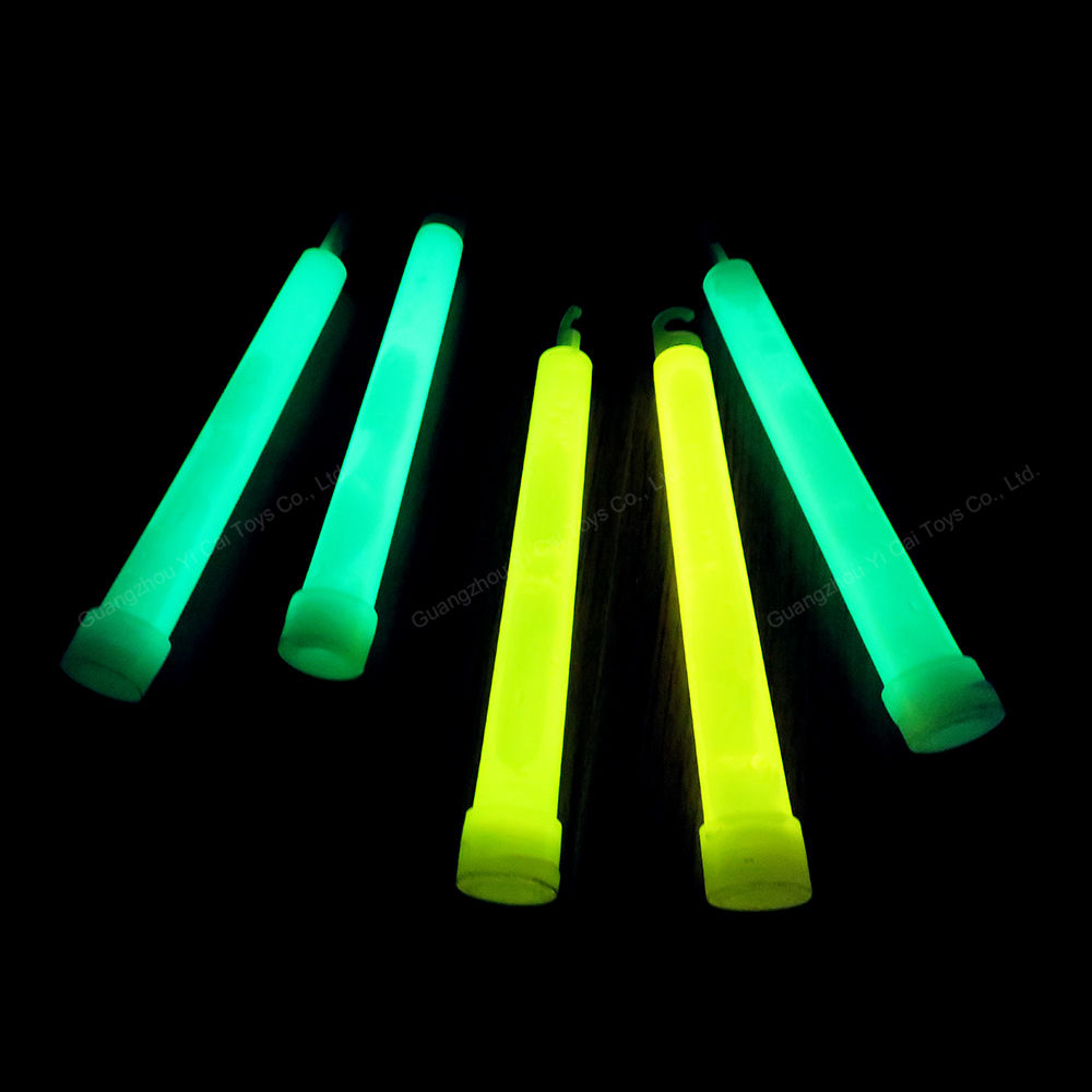 promotion light stick, cheap 6inch colorful 6'' glow stick