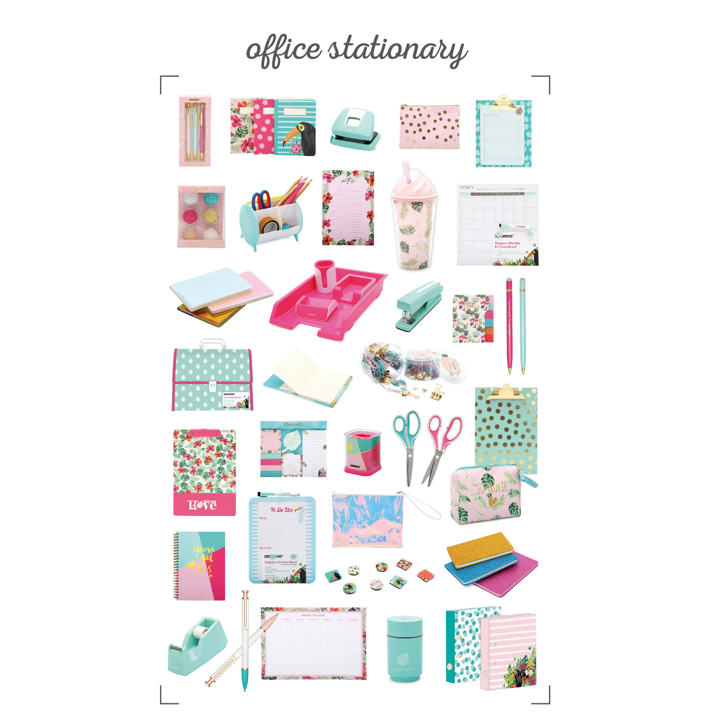 2019 Best Selling New Design Wisdom Office Stationery Set for Office and School