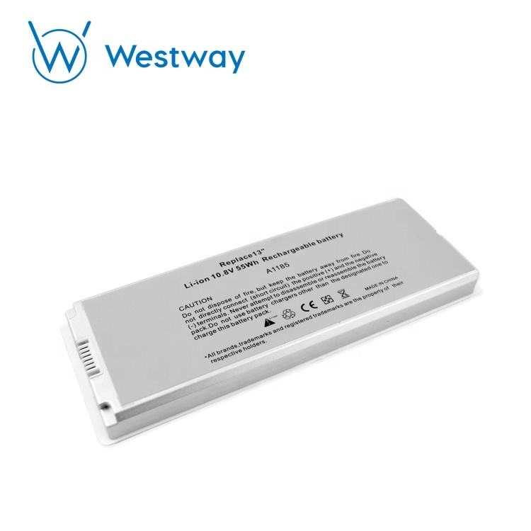 Pour Apple macbook A1181 A1185 <span class=keywords><strong>batterie</strong></span> 10.8V 55WH original blanc/noir