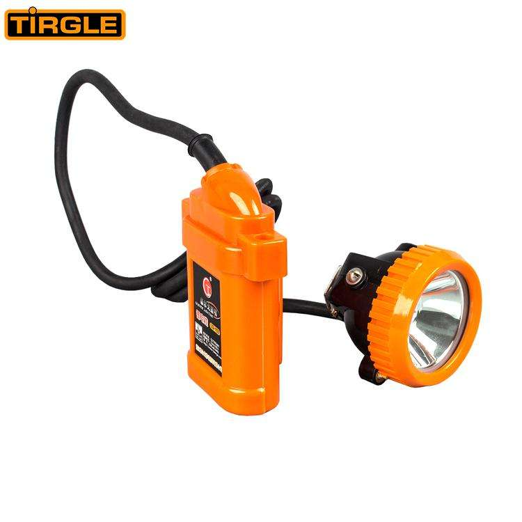 Long working time safety helmet lamp rechargeable led mining cordless cap lamp miner safety lamp