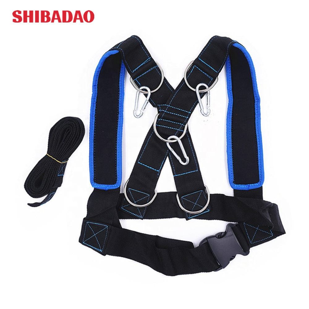 Speed Running Training Slee Schouder Harnas Sport Accessoires Gewicht Lager Vest Home Gym Fitness Body Building Apparatuur