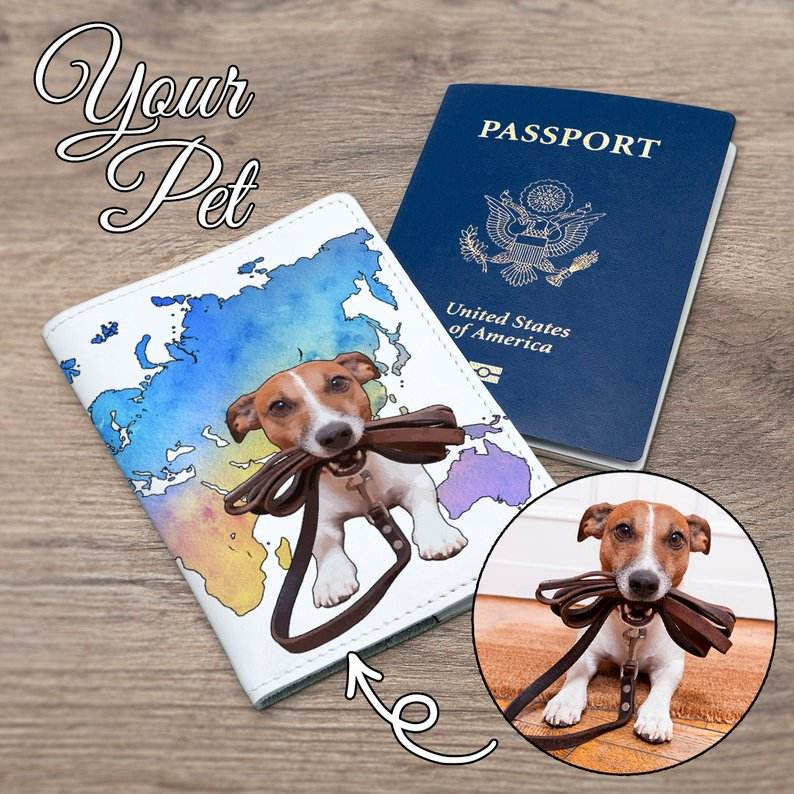 Traveling Pets Rules and Requirements Information Log Book Custom Pet Pass