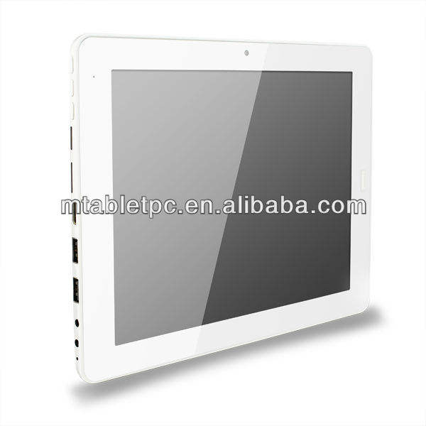 CHAUDE Nouvelle 2013 9.7inc Capacitif écran tactile IPS X86 système Windows 8 Intel Atom N2600 wifi bluetooth win8 windows xp tablette pc