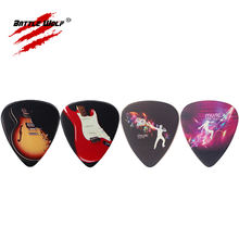 Color Printing Rock Band Guitar Strings Pick