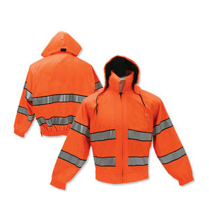 Wholesale EN20471 Fluorescent Orange high visibility waterproof work clothes Factory