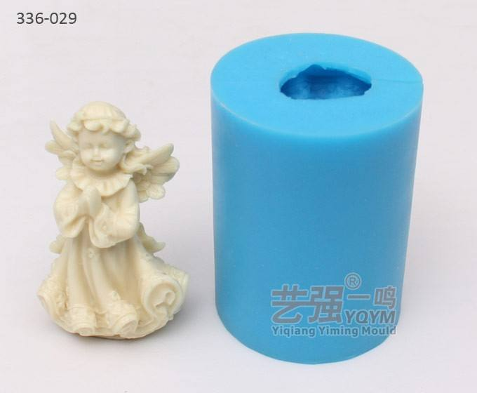 silicone praying angel chocolate mould,fondant cake decorating tools, food grade silicone mold making