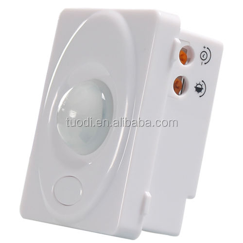 Montaje en pared Pir Led interior Ir Sensor de movimiento de luz automático interruptor