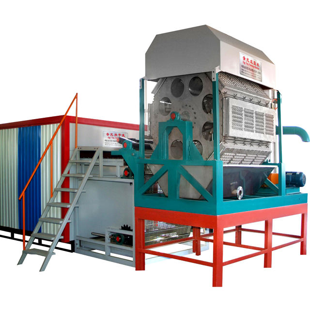China factory manufacture brick /metal drying egg tray machine egg tray/dish machine production line