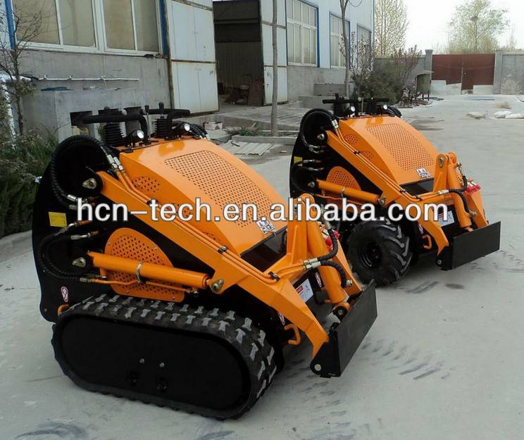 Kohler motor 23hp mini skid steer loader rastreado