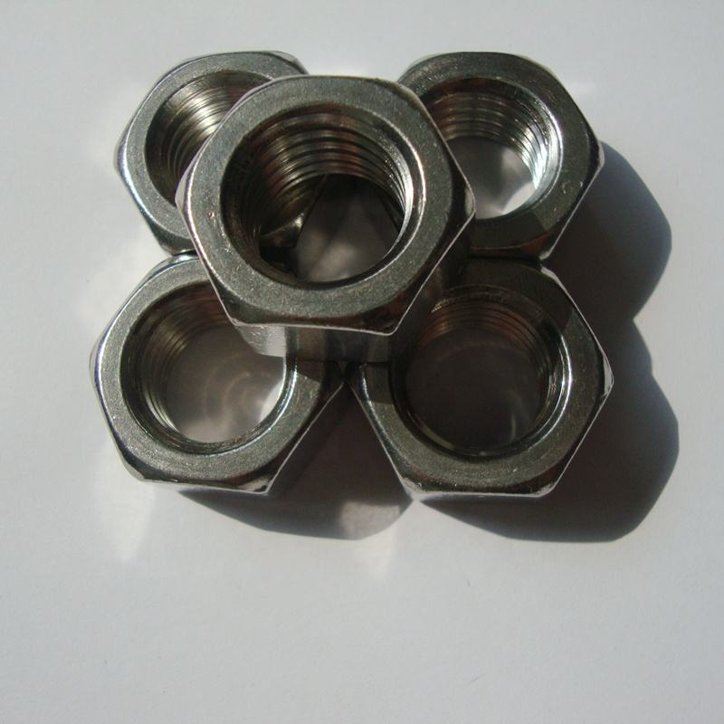 Stainless Steel 304/Stainless Steel 18-8 Hex Nut 1/2