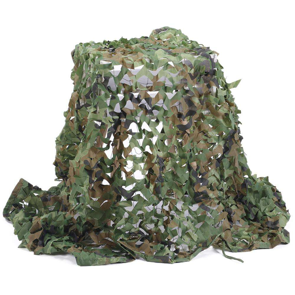 3D Woodland Mesh Shadow Hunting Pine Needles Military Camo Netting Anti-radar Army Camouflage Net