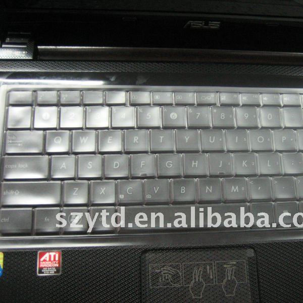laptop keyboard cover/skin for asus X42