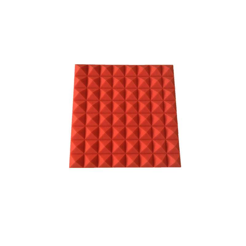 factory America pyramid shape soundproofed canopy opera house acoustic panel