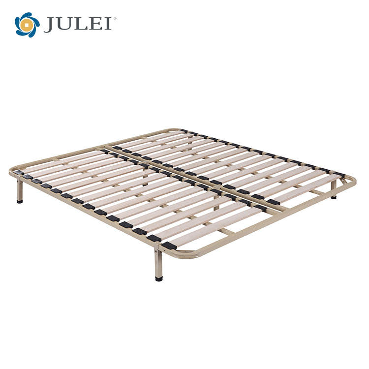 Hot sale rainha forte slat bed <span class=keywords><strong>frame</strong></span> <span class=keywords><strong>colchão</strong></span> fundação fácil para montagem slat bed <span class=keywords><strong>frame</strong></span>