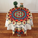 decorative table covers, dining table protective covers, round tablecloth for restaurant