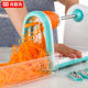Multifunction Fruit Vegetable Potato Cutter Household Manual Graters Spiral Cutter Stainless Steel Grater Kitchen Tools
