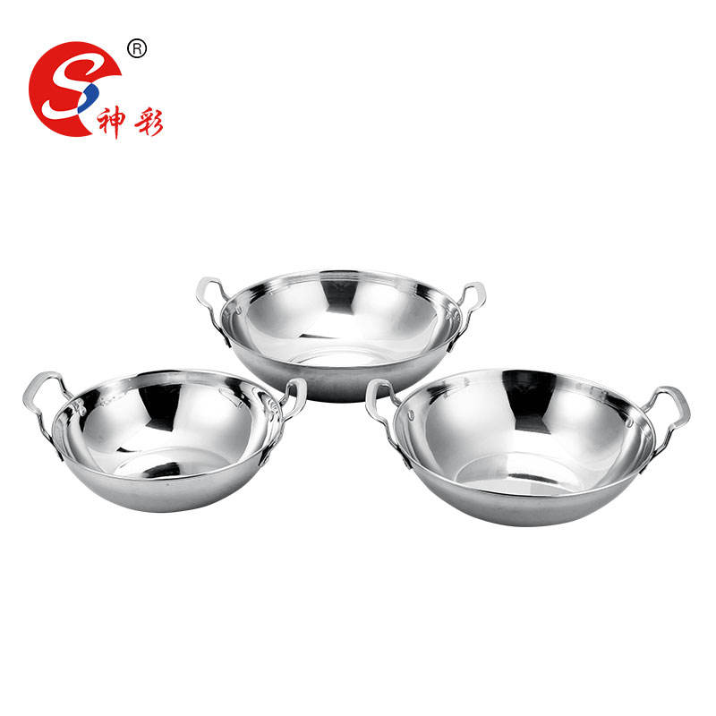3 pcs bol de curry balti plat table de service plat poignée 9