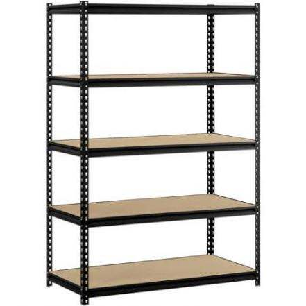 5 level boltless corner metal storage rack wholesale, warehouse storage rack, slotted angle storage rack