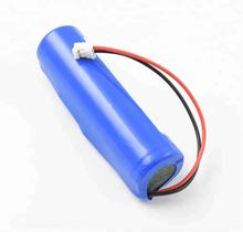 Rechargeable lithium battery 3.7V 18650 2200mAh Li-ion battery with PCB and JST PHR2.0