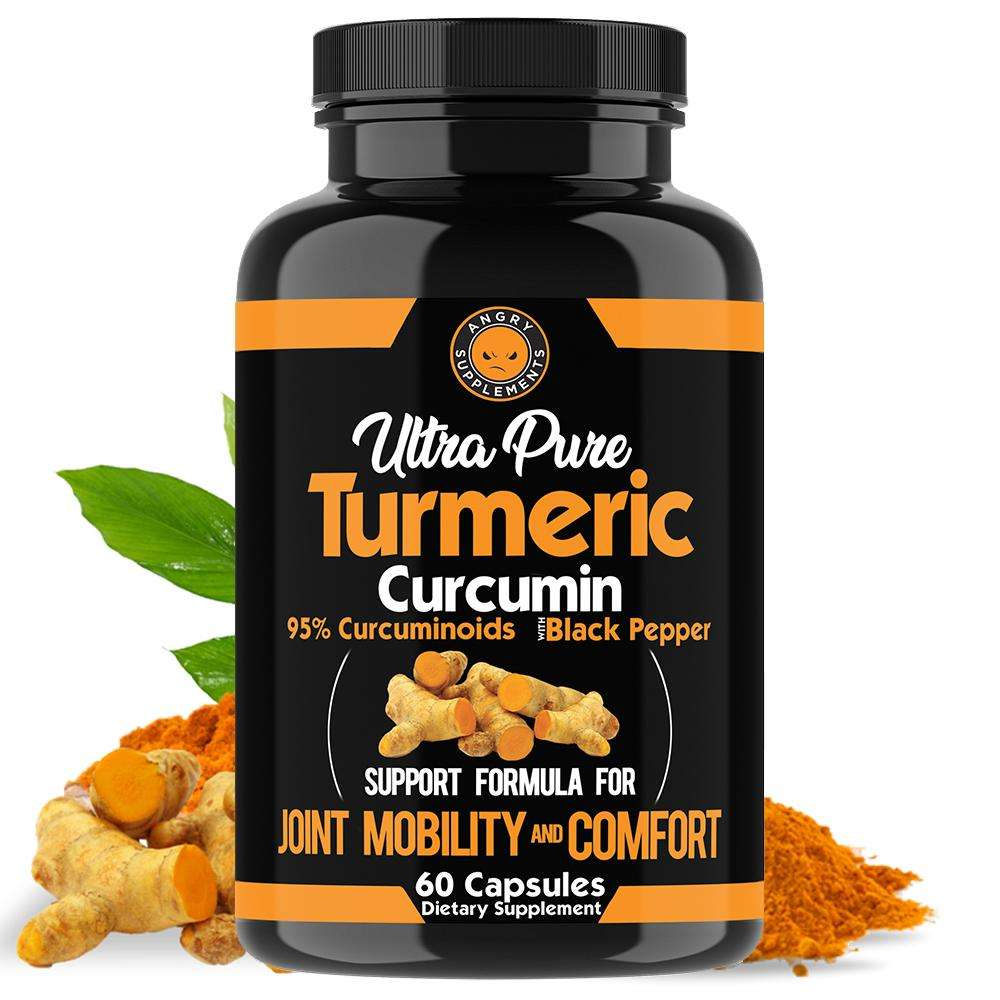 Turmeric curcumin extract supplements capsules oem private label for joint health