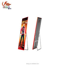 p2.5 video led poster display with HDMI USB 3G wireless Mobile APP control mode